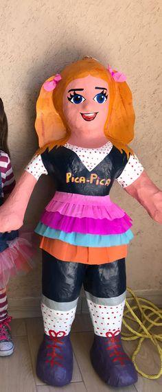Piñata Belen Pelo de Oro; Pica Pica