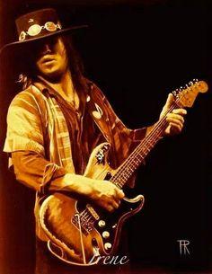 Very much missed..R.IP. Stevie Ray Van..