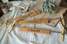 Wood Hanger ボトムハンガードイツアンティークインテリア雑貨nn 619 家具 Antique ¥1000yen 〆06月14日