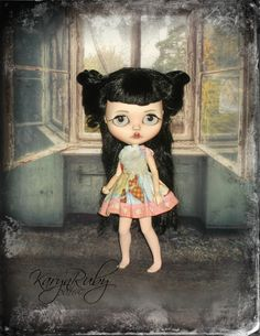 Blythe   Retro  Inspired Sundress      by KarynRuby by KarynRuby