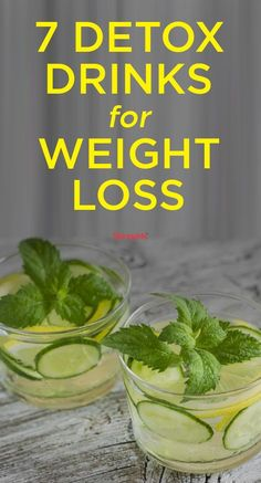 Add these 7 detox drinks for weight loss to your clean eating regime. Add these 7 detox drinks for weight loss to your clean eating regime. Week Detox Diet, Detox Diet Drinks, Detox Diet Plan, Smoothie Detox, Cleanse Detox, Detox Juices, Juice Cleanse, Detox Foods, Stomach Cleanse