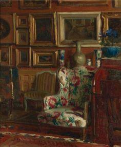 Jacques Emile Blanche: Atelier, Rue des Fontis in Auteuil, Paris