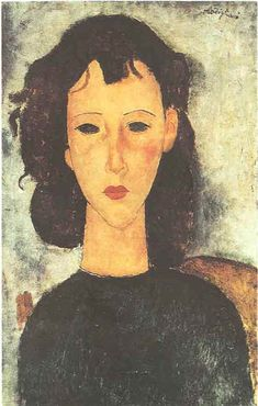 Portrait of a Girl - Amedeo Modigliani - can find Amedeo modigliani and more on our website.Portrait of a Girl - Amedeo Modigliani - 1917 Amedeo Modigliani, Modigliani Paintings, Italian Painters, Italian Artist, Madame Pompadour, Chaim Soutine, Fauvism, Art Sculpture, Oil Painting Reproductions