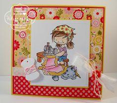 Whiff of Joy stamp called Sew Cute. www.whiffofjoy.com
