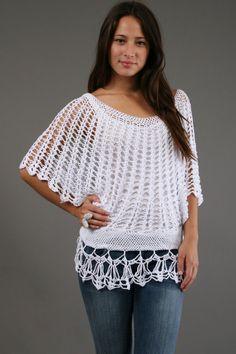 crochet blouse pattern - Buscar con Google
