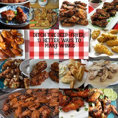 Ditch the Deep-Fryer! 13 Better Ways to Make Wings #SundaySupper