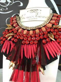 Fashion red Neacklace