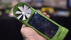Kinesis builds a wind power and solar power charger in one to charge battery for mobile devices.