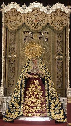 V de la angustia Sevilla