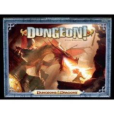 Dungeon! is a fast-paced game where you and your friends can decide which way to go in the hunt for bigger and better treasure.    Will you stick to level 1 and clear out the Goblins and Kobolds? Or will you delve deep into level 6 and set your sights on the Purple Worm or the Red Dragon? Along the way, you'll have to face off against such iconic monsters as the Black Pudding, the Drow, and even the Owlbear!