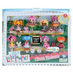 Amazon.com: Lalaloopsy Exclusive 3 Inch Mini Figure Playset Class Picture: Toys & Games