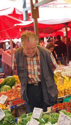 Farmer's market, Catania, Sicily