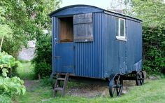Rural history enthusiast David Morris has spent over 10 years travelling   around Britain, photographing shepherds' huts