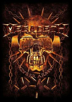 This illustration is copyrighted, Vic and Megadeth logo belong to MEGADETH, don't steal or . MEGADETH - Official Fan Club 2013 TS contest Hard Rock, Heavy Metal Rock, Heavy Metal Bands, Power Metal, Bass, Megadeth Albums, Metallica, Rock And Roll, Vic Rattlehead