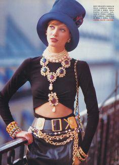Chanel A/W 1992-3 HC: Vogue Italia