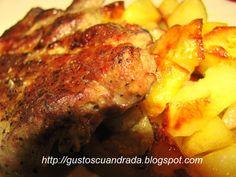 Rețetă Friptura din ceafa de porc, de Aandradaa - Petitchef