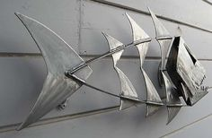 Metal Fish Sculpture | Flickr - Photo Sharing!