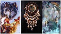 Dream Catcher large wolf totem Dreamcatcher Dream сatcher dreamcatchers top sale…