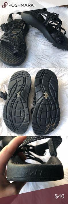 f40b9213d76da Chaco Size 7 Womens zx 3 classic sandal in xoxo black. Black and white