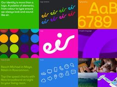 Goodbye (another) swooshy globe as Moving Brands changes Eircom into eir | Creative Review