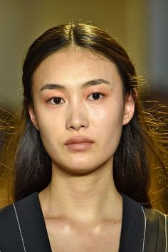 10 Spring Beauty Trends To Start Wearing NOW #refinery29  http://www.refinery29.com/spring-beauty-color-trends#slide-19  Ladies with warmer undertones should reach for a more peach-toned shade to achieve the trend. ...