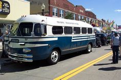 Extremely rare Spartan bus. I've seen it in person.