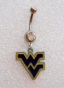 WV belly button rings
