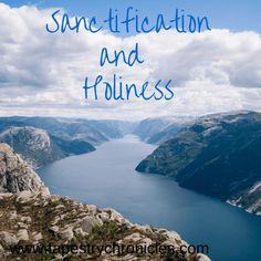 """I added """"Sanctification and Holiness 