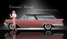 1957 Cadillac Coronado Touring Station Wagon Concept with Jayne Mansfield