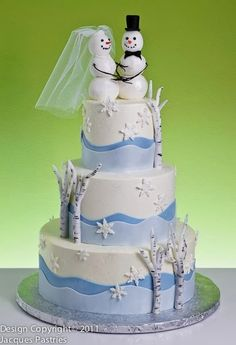 Winter Scene Cake by Jacques Fine European Pastries