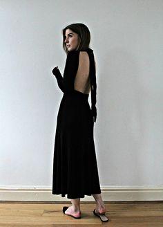 Angharad Jones - Zara Dress, Asos Shoes - Backless Midi