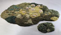 Natureza tecida à mão. Designer argentina cria paisagens incríveis com lã