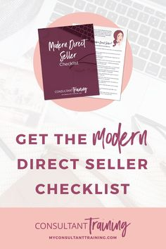 This ain't your momma's Tupperware party, y'all! I tell you the steps you need to take to become a modern direct seller in my free checklist. Just enter your name and email to download your copy! #directseller #directsales #directsellerchecklist
