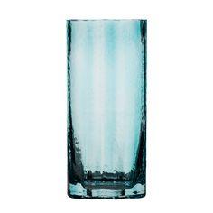 Siluett Vase Haut, Turquoise - Maria Pettersson - SEA Glasbruk - RoyalDesign.fr Taille: Hauteur:260 mm Diamètre:120 mm 19€