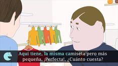 A1 Unidad 10 Ejercicio 5.7 Tienda de ropa (subtítulos)