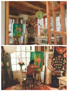Studio of Katie Daisy (Bend, Oregon)