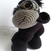 Yuna the Gorilla - Amigurumi - via @Craftsy.com for $5.50