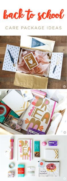 Do you have a college kid headed back to school? This back-to-school care package is sure to make the beginning of the school year a breeze. Fill up a box with extra school supplies, study snacks, and a funny card from Hallmark. Your favorite student is sure to delight in this fun surprise!