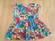Vestido Menina - Colorido