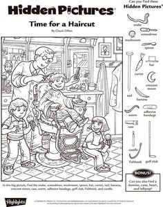 Hidden Pictures for Kindergarten Free - All The Shops Online Hidden Picture Games, Hidden Picture Puzzles, Hidden Object Puzzles, Hidden Objects, Colouring Pages, Coloring Books, Hidden Pictures Printables, Visual Perceptual Activities, Hidden Images