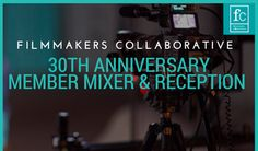 Happy 30th anniversary, Filmmakers Collaborative! Celebrate FC with a spring mixer, reception, and presentation with FC staff, board members and filmmakers Sunday, April 30th 4-6pm at Orleans Restaurant in Somerville. Free with RSVP and features appetizers and a cash bar. #FilmmakersCollaborative