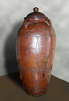 Abuja Pottery: Nigeria, (1951-1965) Michael Cardew, storage jar