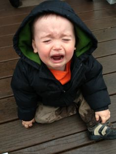 So hilarious I'm still laughing... Blog by a dad, Reasons My Son is Crying: 1. I wouldn't let him eat mud.