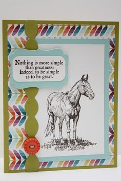 Horse frontier thank you card by Pauline Kolochuk SU demo @ The Pursuit of Stampiness - Calgary, Alberta, Canada Horse Cards, Cowboy And Cowgirl, Masculine Cards, Card Tags, Diy Cards, Thank You Cards, Stampin Up, Card Ideas, Gift Ideas