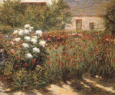 Garden at Giverny, John Leslie Breck