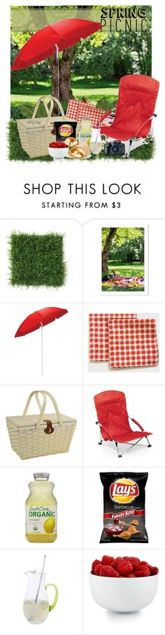 """""""Spring Picnic"""" by boho-at-heart ❤ liked on Polyvore featuring interior, interiors, interior design, home, home decor, interior decorating, Picnic Time, Picnic at Ascot, Dartington Crystal and The Cellar"""