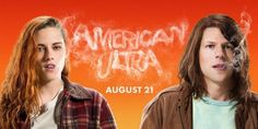 There's a new stoner comedy in town. 'American Ultra' (in theaters August stars Kristen Stewart as Phoebe and Jesse Eisenberg as Mike, an unmotivated stoner/sleeper agent whose secret agent skills come to life when he's thrown into a dangerous gover Kristen Stewart, Max Landis, Stoner Comedies, American Ultra, Shaytards, Star Wars, Puff And Pass, Good Movies To Watch, Blues Music