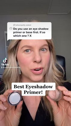 Best Eyeshadow Primer, Eye Primer, Makeup Primer, Eyeshadow Looks, Makeup To Buy, Makeup Stuff, Makeup Videos, Makeup Tips, Eyelashes