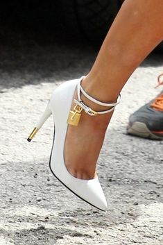 Not usually a fan of the ankle strap but these are cute!