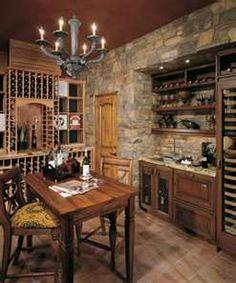 Captivating Stone Home Wine Bar Contemporary - Exterior ideas 3D ...
